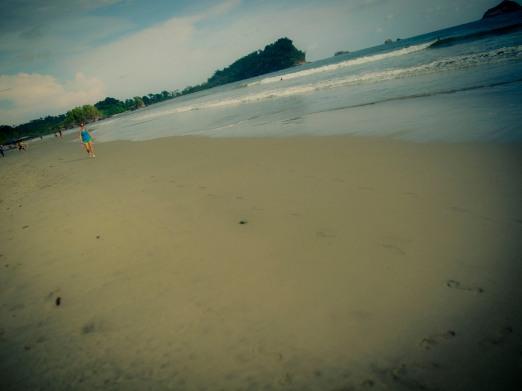Beach at Manuel Antonio, Costa Rica.