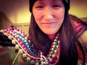 This girl seriously needed a bead intervention.